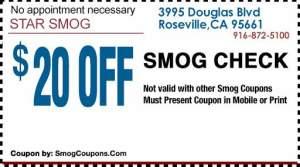 STAR Smog Roseville